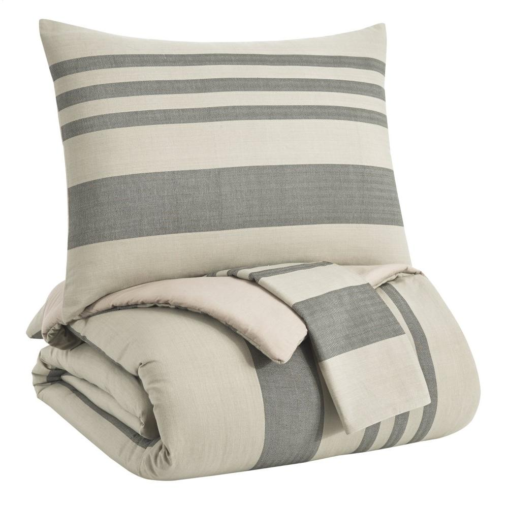 Schukei 3-piece King Comforter Set