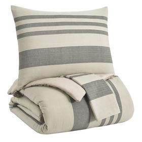 See Details - Schukei 3-piece King Comforter Set