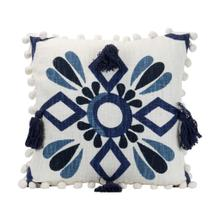 See Details - 18x18 Hand Woven Zocalo Pillow