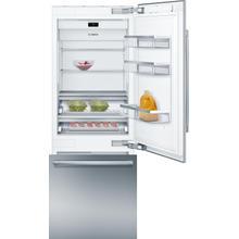 View Product - Benchmark® Built-in Bottom Freezer Refrigerator 30'' flat hinge B30BB935SS