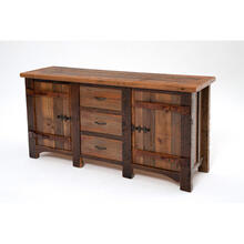 See Details - Heritage Shady Bay 2 Door 3 Drawer Buffet-hutch Base Only