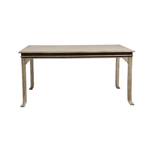 Table, Available in Aged White Finish Only.
