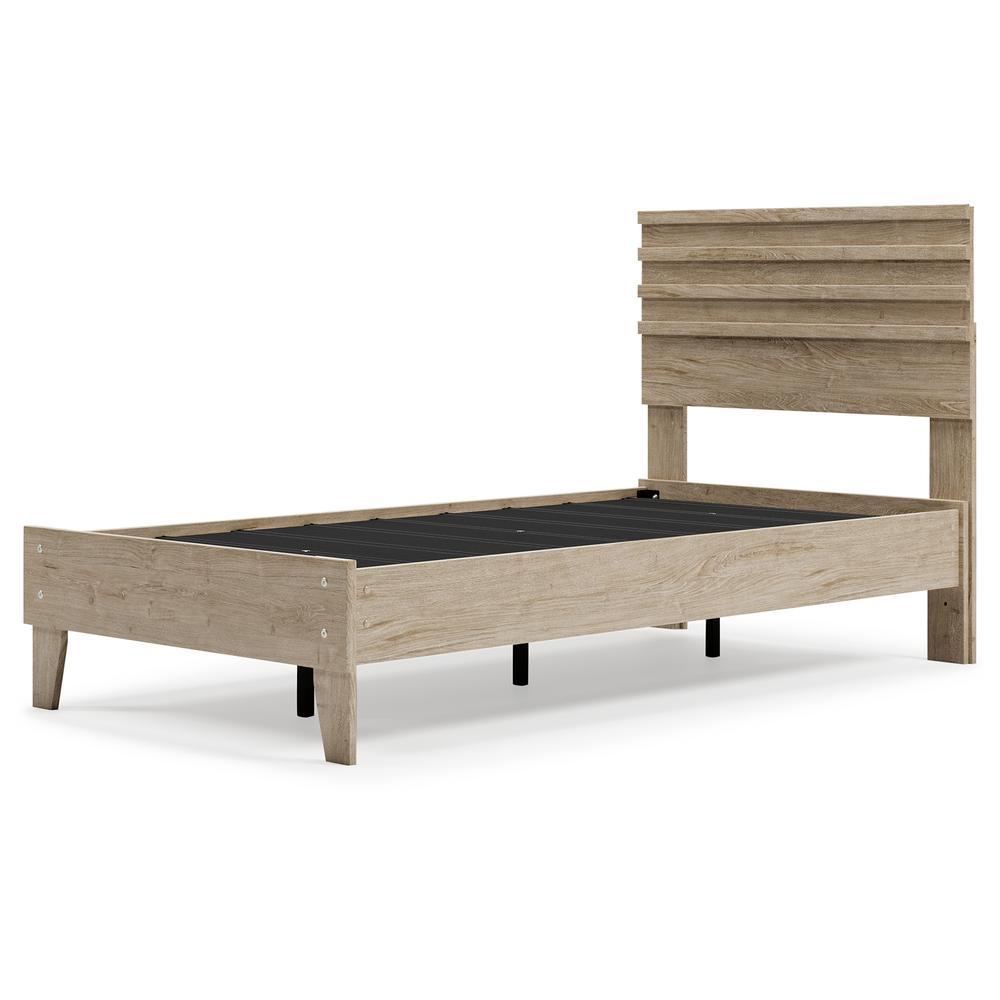 Oliah Twin Panel Platform Bed