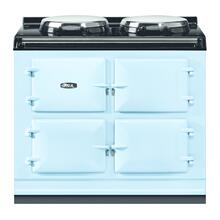 "AGA Total Control 39"" Electric Duck Egg Blue with Stainless Steel trim"