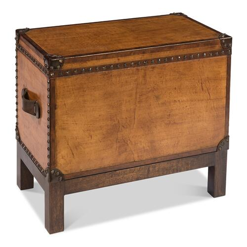 Abilene Leather Box W/Stand