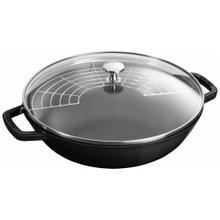 Staub Cast Iron 4.5-qt Perfect Pan - Visual Imperfections - Shiny Black