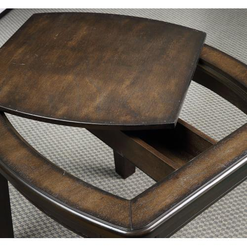 "Steve Silver Co. - Diletta Game End Table 24""x24""x24"""