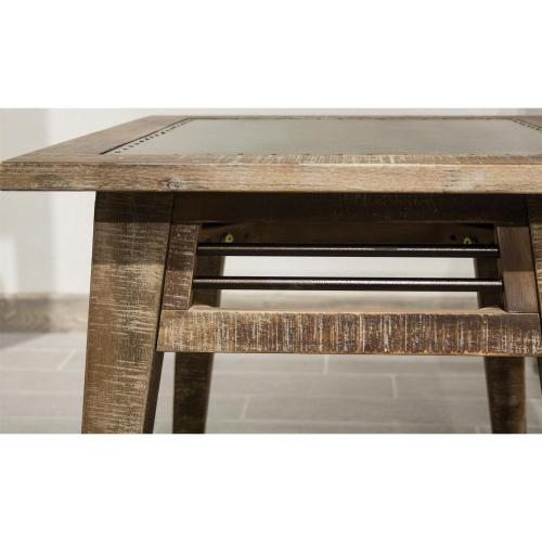 Rowan - Side Table - Rough-hewn Gray Finish