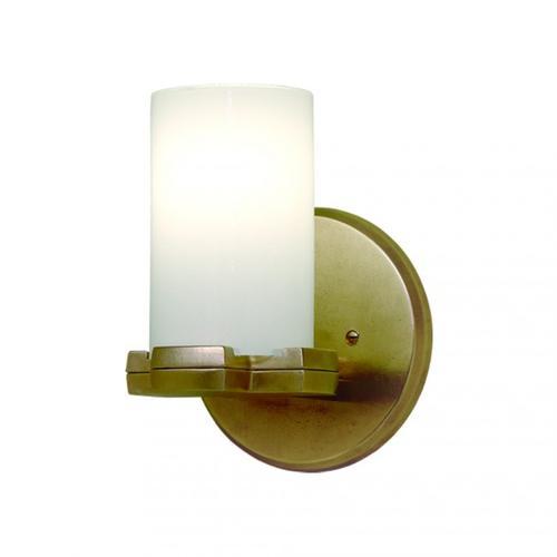 Truss Sconce - Round Globe - WS410 Silicon Bronze Medium
