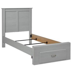 Arcella Twin Storage Footboard