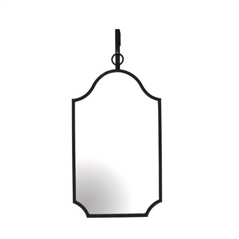Black Hanging Mirror