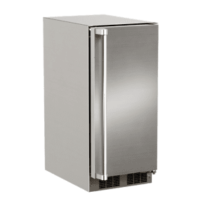 Marvel15-In Outdoor Built-In Crescent Ice Machine with Door Style - Stainless Steel