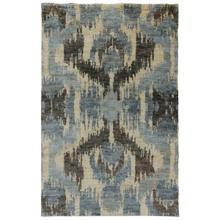 See Details - Ithaca Ikat Blue 2x3