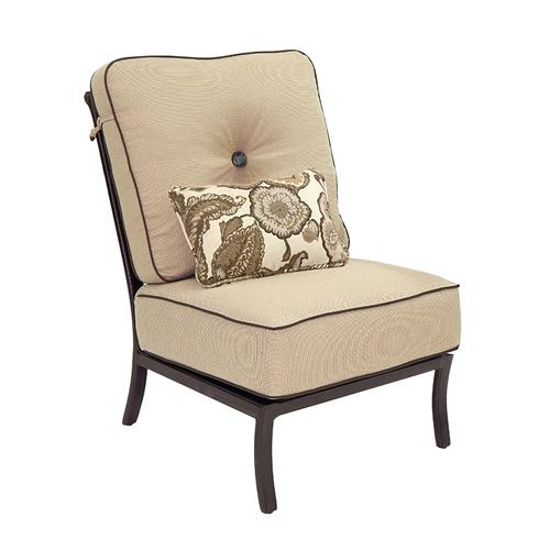 Castelle - Monterey High Back Sectional Armless Lounge Chair