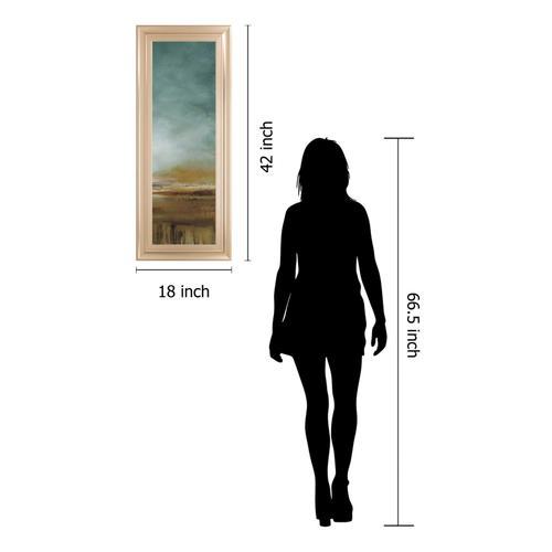 "Classy Art - ""New Horizons III"" By Tesla Framed Print Wall Art"