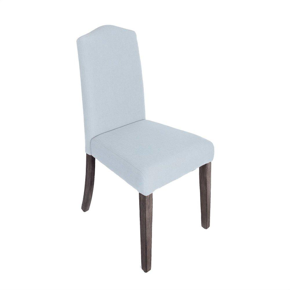 Upholstered Side Chair - Light Aqua (RTA)