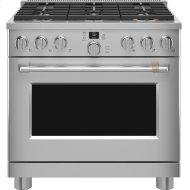 """36"""" Smart Dual-Fuel Commercial-Style Range with 6 Burners (Natural Gas)"""