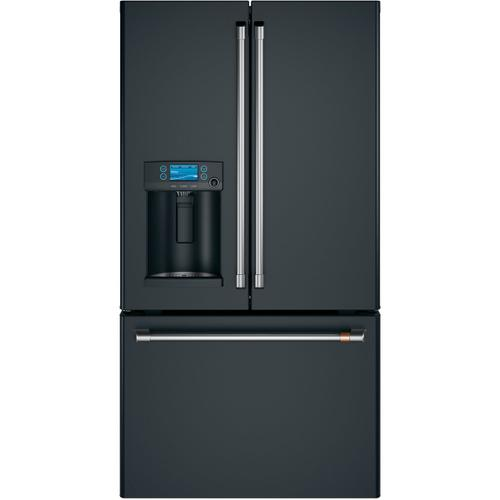 Café ENERGY STAR® 22.1 Cu. Ft. Smart Counter-Depth French-Door Refrigerator with Hot Water Dispenser