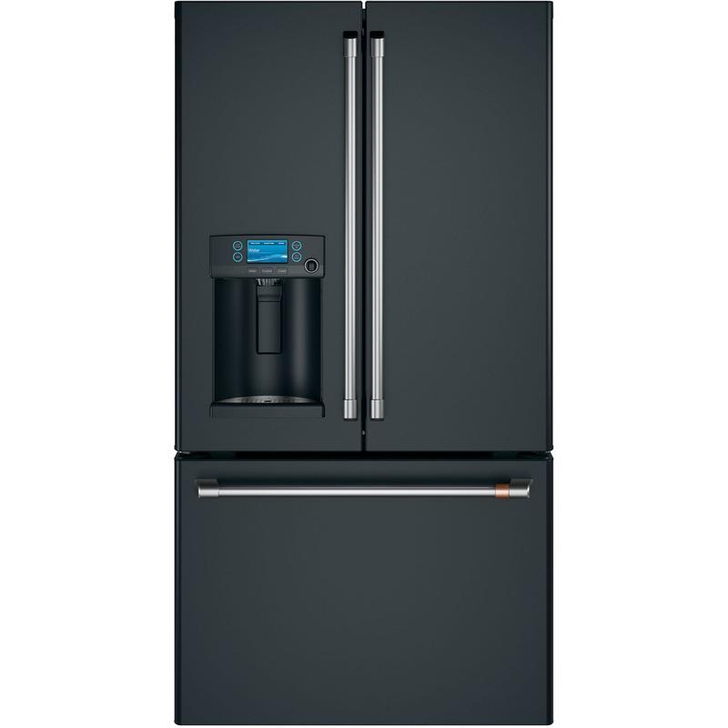 Café™ ENERGY STAR® 22.1 Cu. Ft. Smart Counter-Depth French-Door Refrigerator with Hot Water Dispenser
