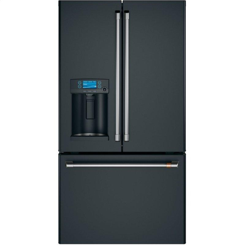 Cafe™ ENERGY STAR® 22.1 Cu. Ft. Smart Counter-Depth French-Door Refrigerator with Hot Water Dispenser