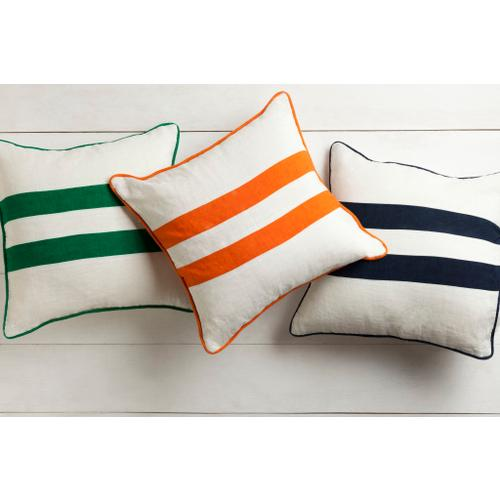 """Surya - Linen Stripe LS-006 18""""H x 18""""W"""