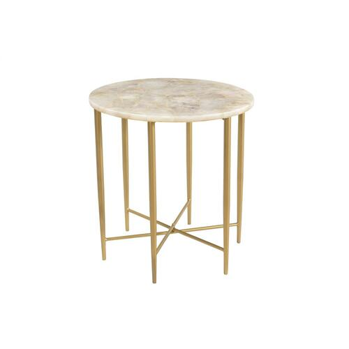 Katherine Round Accent Table