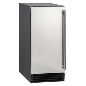Maxx IceMaxx Ice 50 lb. Freestanding Icemaker with Drain Pump in Stainless Steel