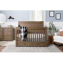 See Details - Stablewood Wesley Farmhouse 4-in-1 Convertible Storage Crib -
