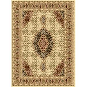 "Persian Design 1 Million Point Heatset Monalisa T02 Area Rugs by Rug Factory Plus - 5'4"" x 7'5"" / Ivory"