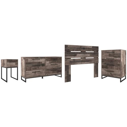 Ashley - Full Panel Headboard With Dresser, Chest and Nightstand