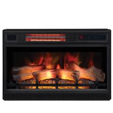 """View Product - 26"""" 3D Infrared Quartz Electric Fireplace Insert with Safer Plug® and Safer Sensor™"""