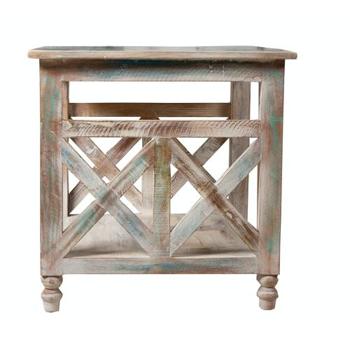 Lamp Table, Available in Recycled Finish Only.