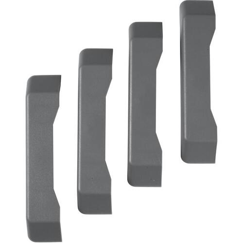 Gladiator - GearTrack ® Channel End Caps (4-Pack)