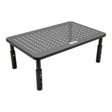 Monitor Riser for Desk, 14 x 9 in. - Height Adjustable, Metal, Black