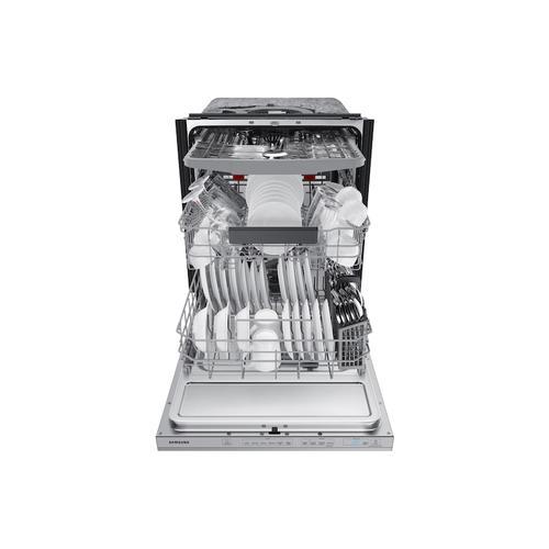 Samsung - StormWash™ 42 dBA Dishwasher in Stainless Steel