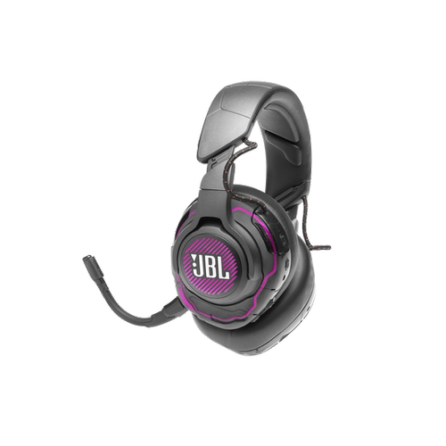 JBL Quantum ONE USB wired PC over-ear professional gaming headset with head-tracking enhanced JBL QuantumSPHERE 360