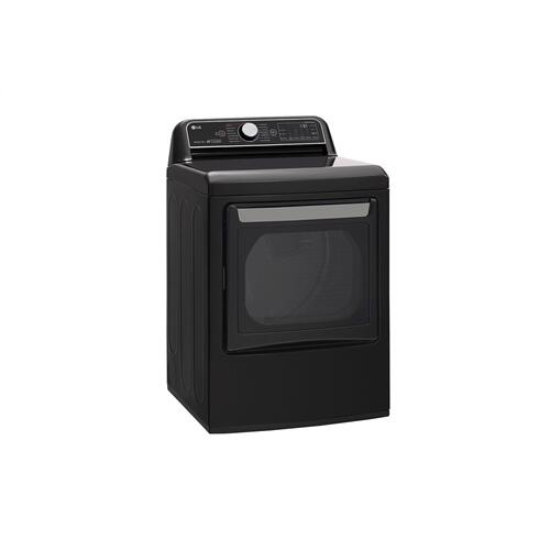 Product Image - 7.3 cu.ft. Smart wi-fi Enabled Gas Dryer with TurboSteam™