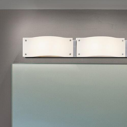 "Sonneman - A Way of Light - Oceana LED Bath Bar [Size=28"", Color/Finish=Satin Nickel]"