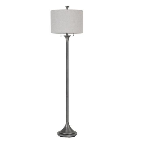 60 W X 2 Cosenza Metal Floor Lamp