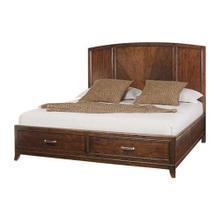 Panel Bed 6/6 w/Storage
