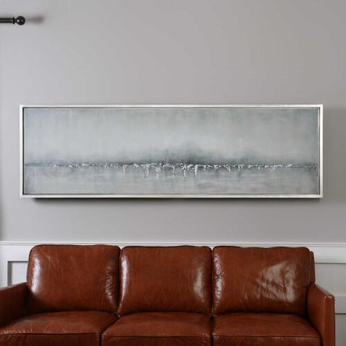 Tides Edge Hand Painted Canvas