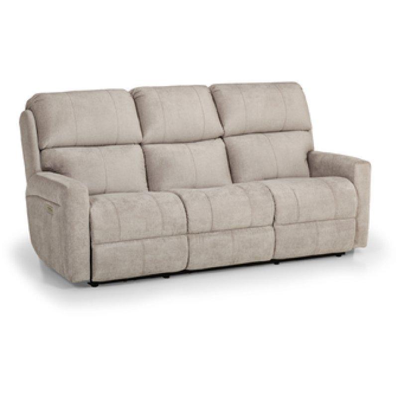 Duel Reclining Power Sofa