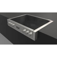 "36"" Induction Range Top - Stainless Steel"