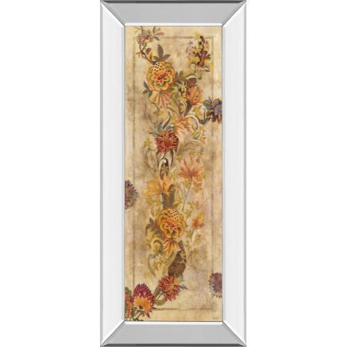 "Classy Art - ""Fleur Delicate Il"" By Georgie Mirror Framed Print Wall Art"