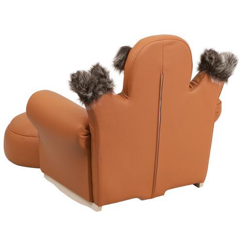 Kids Monkey Rocker Chair and Footrest