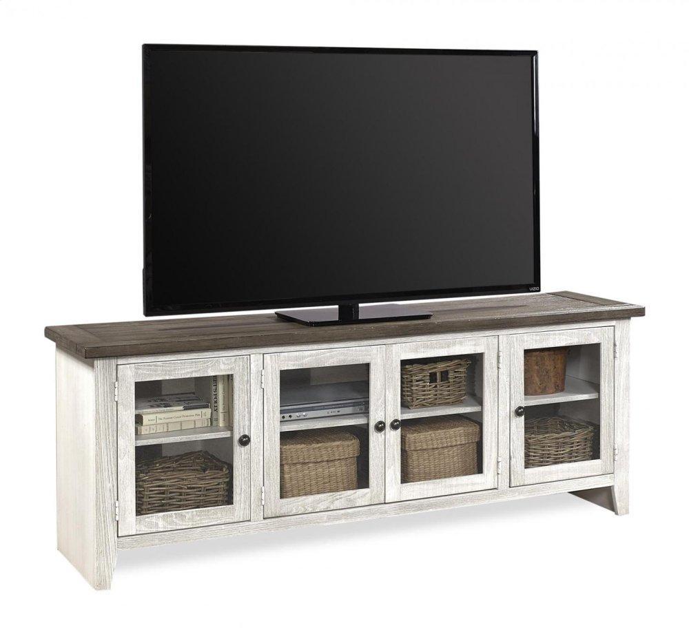 "Aspen FurnitureEastport 74"" Console W/ 4 Doors"