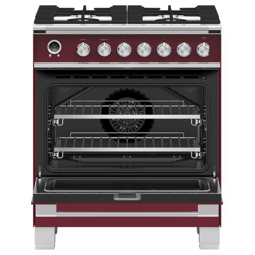 """Gallery - Dual Fuel Range, 30"""", 4 Burners, Self-cleaning"""