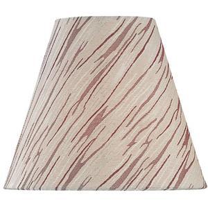 "Candelabra Shade/patterned Fabric - 4""tx8""bx7""sl"