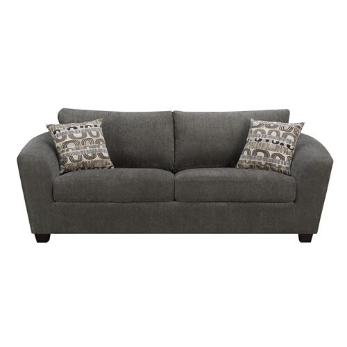 Emerald Home Urbana Sofa W/2 Accent Pillows Ink U3613m-00-13