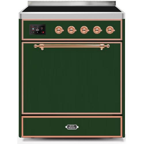 30 Inch Emerald Green Electric Freestanding Range